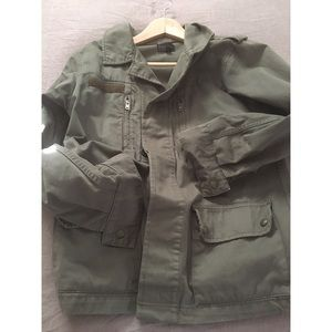 TopShop Military Shirt Jacket